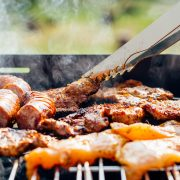 Barbecue et rencontres par équipe